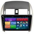 10.2 ''frete grátis quad core android 4.4 estéreo carro para toyota Corolla 2007 2008 2009 2010 2011 2012 2013 Com Radio GPS mapa