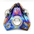 Tri-Spinner Непоседа EDC Руки Spinner Titanium Сплав Палец Гироскоп Фокус Игрушки Керамические Подшипники Декомпрессии Игрушки