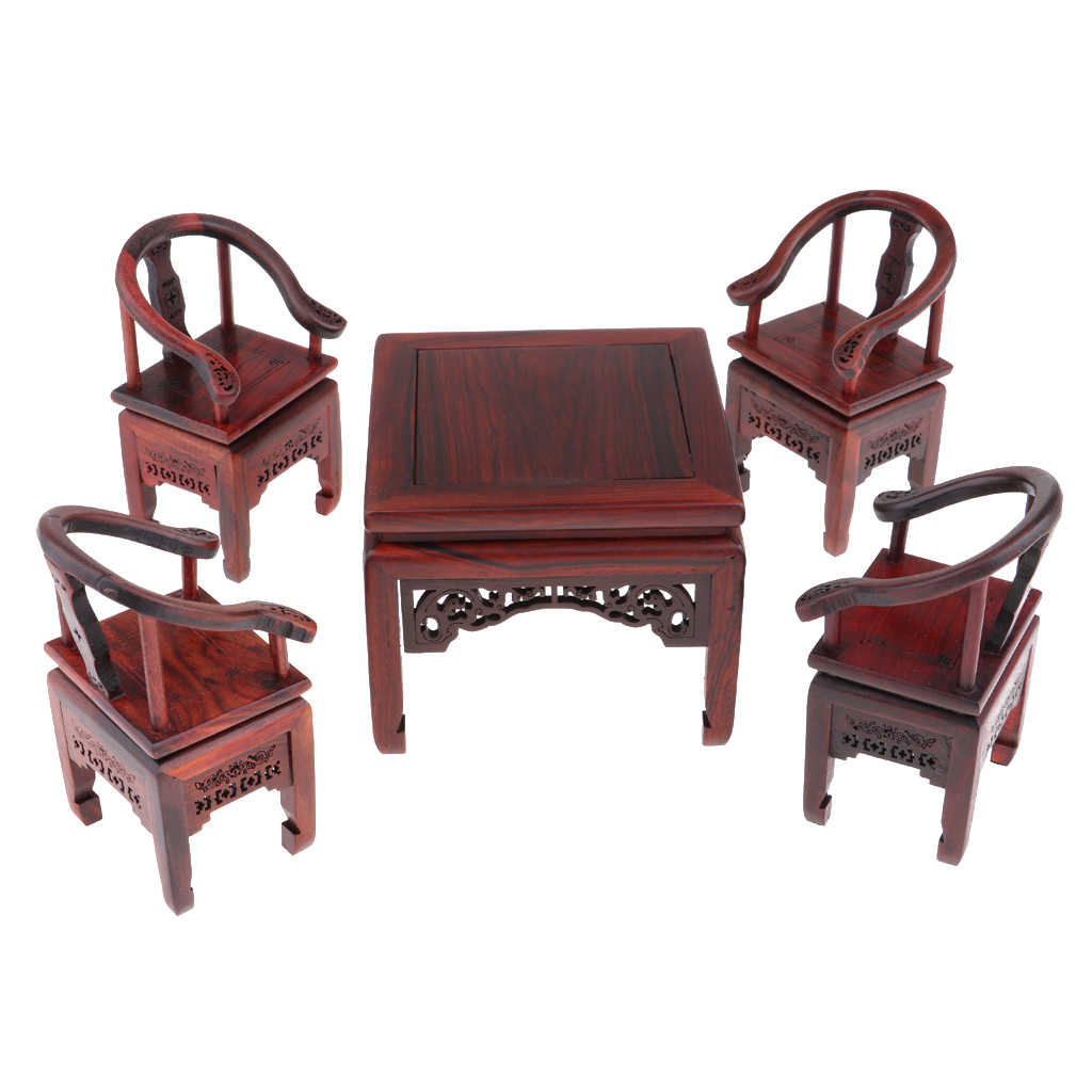 1/6 весы деревянный квадратный стол стул со столиком для кормления модель для кукол мебель для дома коллекции