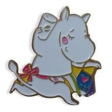 Customized Cute Animal Memorial Badge Custom Metal Name