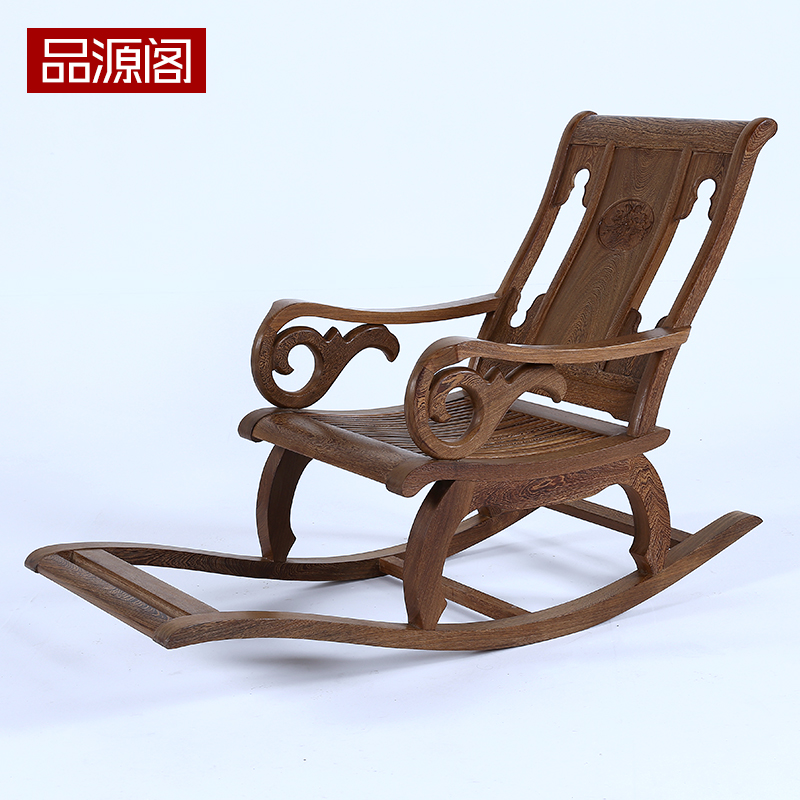 Outstanding Chinese Rosewood Furniture Wenge Wood Rocking Chair Recliner Caraccident5 Cool Chair Designs And Ideas Caraccident5Info