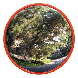 Road-Mirror Traffic Safety Wide-Angle Convex Security Roadway Signal 60cm Driveway Curved