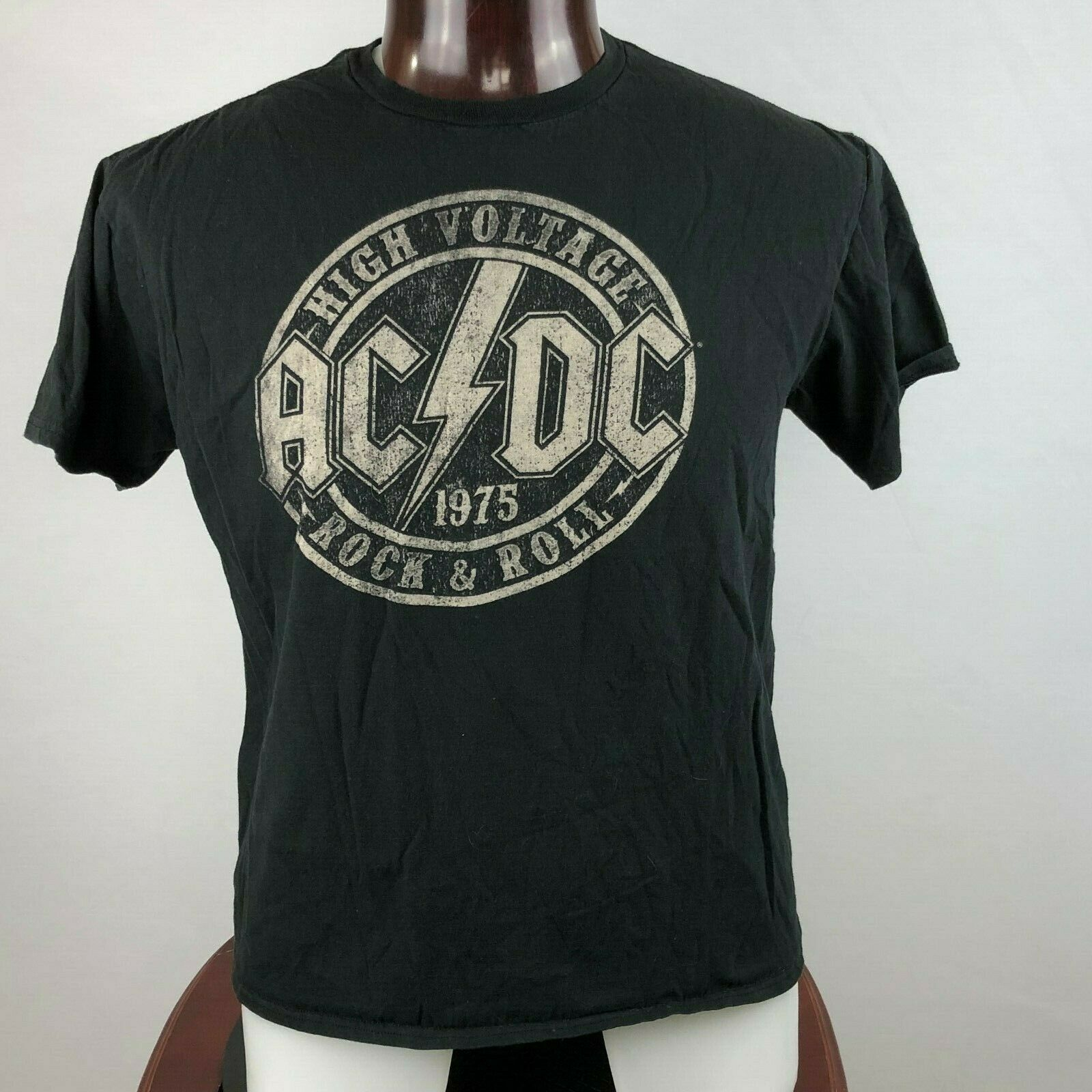 AC/DC ACDC High Voltage Mens XL Graphic T Shirt