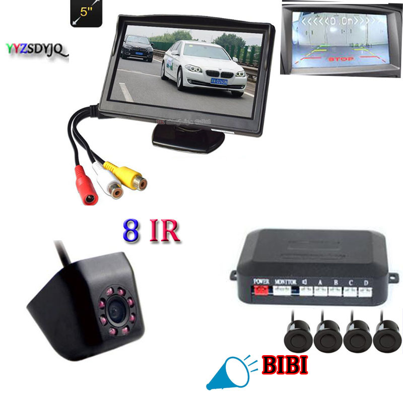 Parking Sensor Lot Reverse Electronic Equipment Reversing Auxiliary Parking System Buzzer Alarm Centimeter Level Display Accuracy