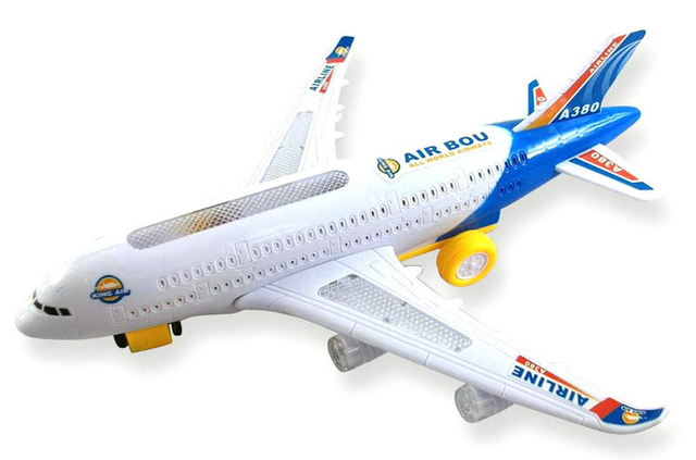 Электрический самолет самолет освещения электрические игрушки игрушки для детей