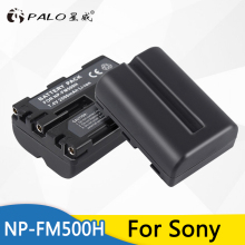 PALO 2pcs 2000mAh NP-FM500H NP FM500H Batteries for Camera for Sony A57 A58 A65 A77 A99 A550 A560 A580 Battery NP-FM500H 2pc np fm500h np fm500h npfm500h battery lcd ultra fast dual charger for sony a57 a65 a77 a99 a350 a550 a580 a900 digital camera