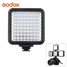 Godox LED64 Video LED Lights 5500K-6500K  for DSLR Camera Camcorder mini DVR as Fill Light for photography