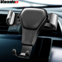 Vanniso Gravity Car Holder For Phone in Air Vent Clip Mount No Magnetic Mobile Cell Stand Support iPhone X