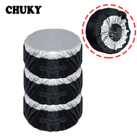 CHUKY 1X Car Spare tire covers Dustproof and Rainproof For Nissan Qashqai J11 Juke Tiida Toyota RAV4 Yaris Avensis Citroen c4 c5