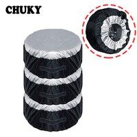 CHUKY 1X Car Spare tire covers Dustproof and Rainproof For Nissan Qashqai J11 Juke Tiida Toyota RAV4 Yaris Avensis Citroen c4 c5