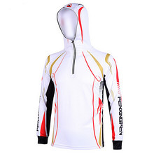 17New Polyester Fabric fishing shirt outdoor sportswear Hiking climbing Cycling fishing Anti-UV Breathable Quick-drying jersey
