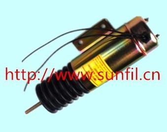Wholesale Shut down solenoid D513-B32V12 12V +fast&cheap shipping 12v d513 b32v12 diesel engine stop solenoid valve