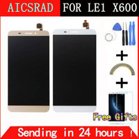5 5 Inch White Gold For Letv X600 LCD Display Touch Screen Digitizer Replacement For Letv