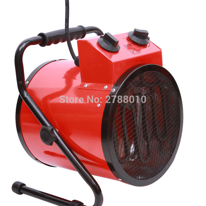 220V 3KW Air Blower Electric heaters household thermostat industrial Warm air blower Electric room heater BJAS-032 цена