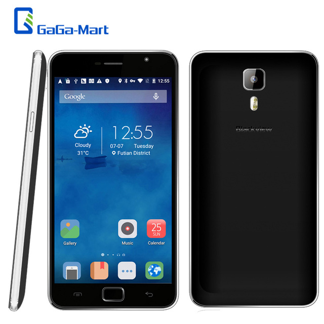 Original Blackview Alife P1 PRO Smartphone Android 5.1 MTK6735 64-bit Quad Core 2GB +16GB 5MP 13MP 5.5 Inch 4G Lte Mobile Phone