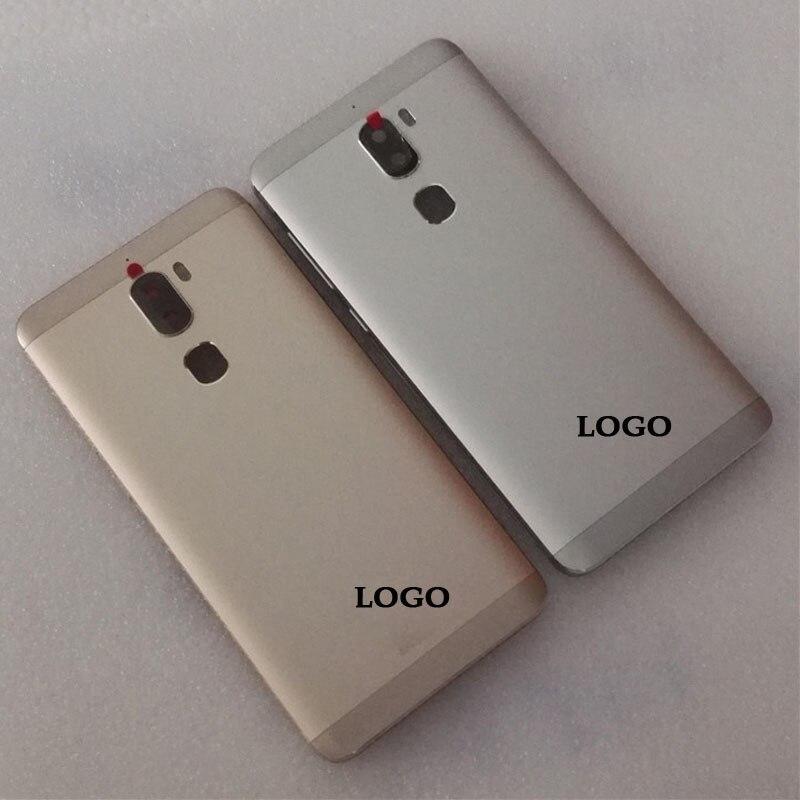 5,5 Zoll Mit Taste Schlüssel für Letv Kühlen 1 Dual Leeco Coolpad Cool1 Zurück Batterie Tür Abdeckung Gehäuse Ersatz Reparatur teile Schwarz