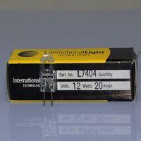 ILT L7404 12V20W G4 Japan tungsten halogen lamp, chemistry analyzer,12V 20W 2000 hours spare bulb,Gilway
