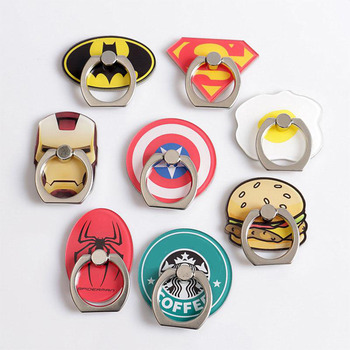 Superheros Finger Ring Smartphone Holder