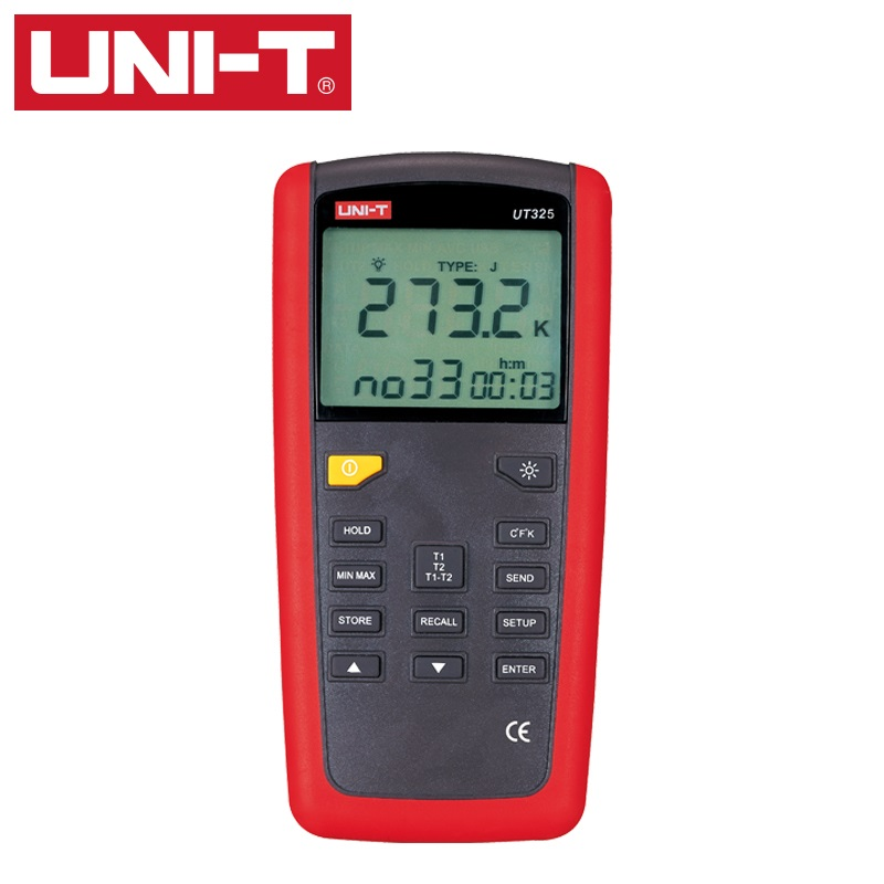 UNI T UT325 Contact Type Termometers Range  200~1375 USB Interface Industrial Temperature Test Selection Type K.J.T.E.R.S.N|Temperature Instruments| |  - title=