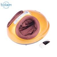 BOLIKIM Shiatsu Reflexology Vibrating Roller Foot Massager Health Massage Infrared Heating Electric Automaton Heating Machine