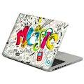 """Рок музыка каракули ноутбука наклейка стикера кожи для MacBook Pro Retina 11 """" 13 """" 15 """" винил Mac чехол тела полное покрытие кожи"""