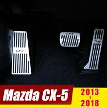 For Mazda CX5 CX-5 2013 2014 2015 2016 2017 2018 Car Accelerator Brake Pedal Foot Rest Pedals Pads No Drill Cover Accessories