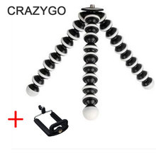 Minimal Octopus Type Transportable and adjustable Tripod Stand Holder For iPhone 7 7plus 6 6s plus digital Digicam