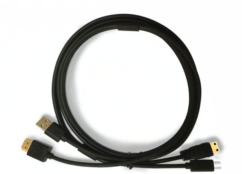 Câble 2 en 1 Bosto 13HD, 16HD, 16HDK, 16HDT, BT-16HD, BT-16HDK, BT-16HDT (port USB et Type C) pour tablette de dessin