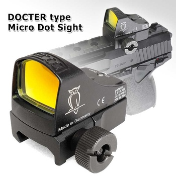 Doctor Micro Red Dot Reflex Sight Airsoft Tactical Holographic Sight Riflescope Rifle Air Gun Optics Hunting Scopes 1