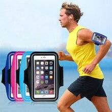Телефон повязки 5,5 дюймов телефон чехлы для iPhonex xs 8 7 6 6s Plus Спорт повязки handphone кожух ремня сумка для бега и тренировок случае