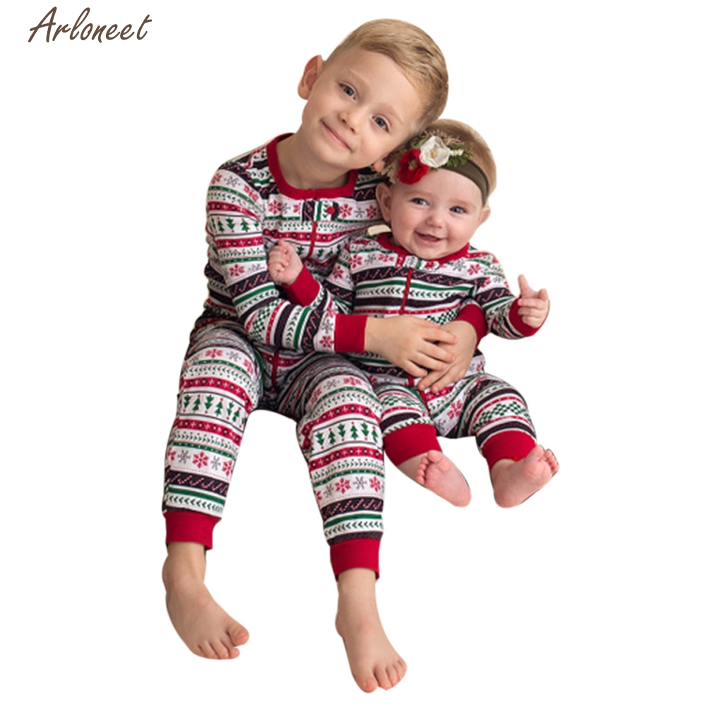 TELOTUNY Boys Clothes Newborn Infant Baby Boy Print Romper Jumpsuit ...