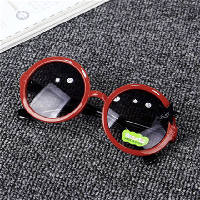 UCOOL Round Frame Five Star Sunglasses Children Glasses UV Protection Boys and Girls Baby Sunglasses Multiple Colour
