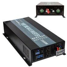 Pure Sine Wave Solar Inverter 24V to 220V 3500W Backup Power Supply Inverter 12V/24V DC to 120V/230V/240V AC Voltage Converter