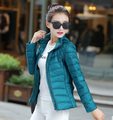 2015 New Designer Fashion Ladies Winter Overcoat Women Brand White Duck Down Coat Jackets Plus Size S-XXXL