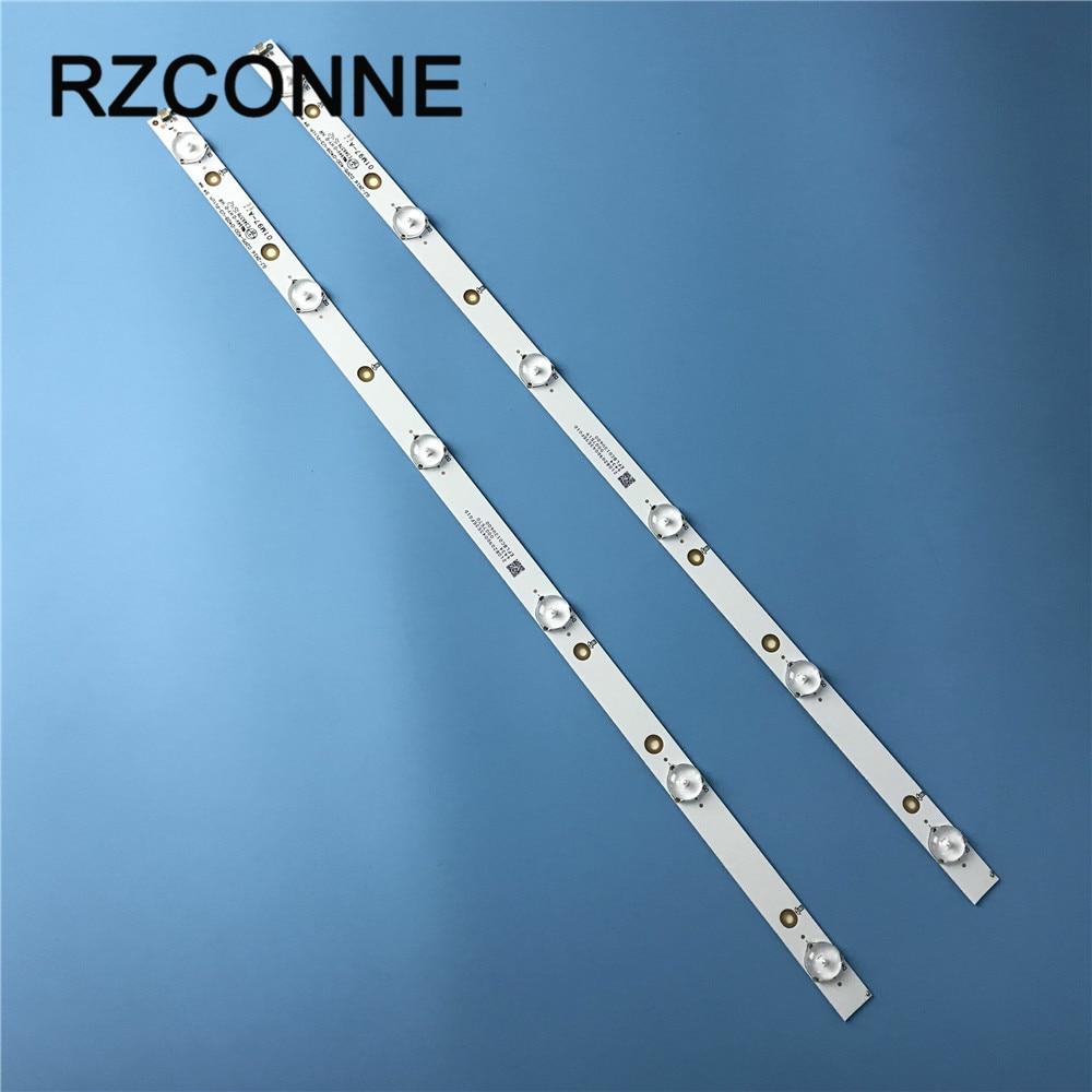 2pcs 515mm*17mm 6leds LED Backlight Lamps LED Strips For TV Monitor Panel