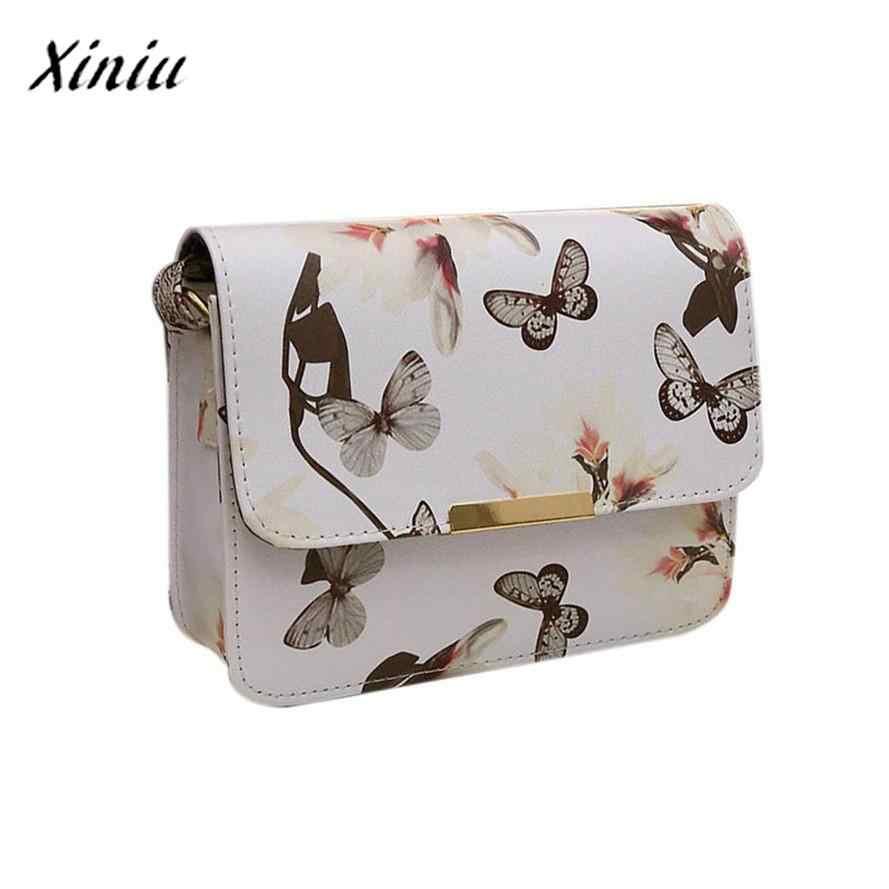 ... USPS XINIU Women Pretty Style Daily Floral leather Shoulder Bag Satchel  Handbag Retro Messenger Bag Mini ... 0fe0a684aec5b