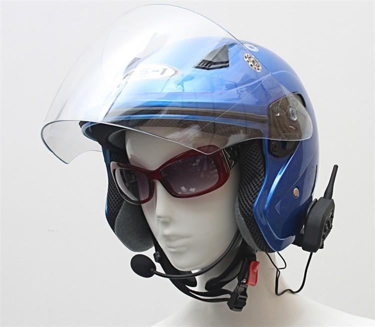 Bluetooth Motorcycle Helmet Intercom 1200M (10)