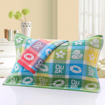3 Pair PillowCases Standard Size 75x52cm Floral Pillow Sham Protector Jacquard PillowCovers Decorative for Wedding No Fading