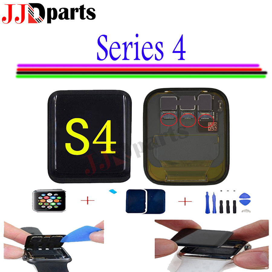 LTE GPS For Apple Watch 4 LCD Touch Screen Assembly watch 4 lcd For Apple Watch