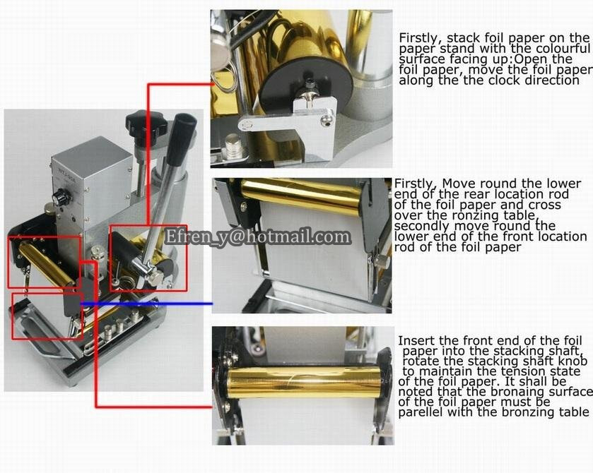 Guaranteed 100% New MANUAL HOT FOIL STAMPING MACHINE TIPPER BRONZING PVC CARD EMBOSSING STAMPING MACHINE  цены