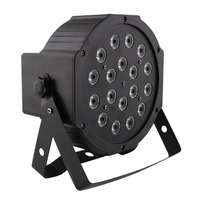 RGB LED Stage Lights with DMX Master Slave Sound activated for DJ Party Disco Power plug AC90 240V