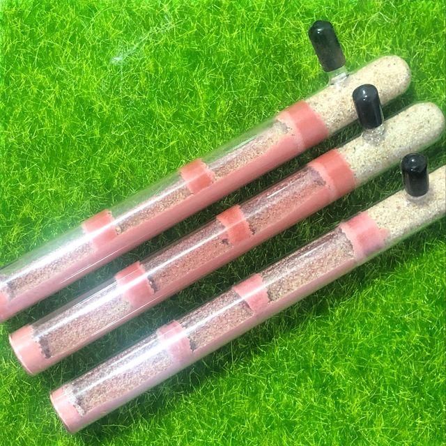 Arena humectante fácil DIY ecológico hormiga granja bambú tubo de ensayo hormiga varios tamaños tubos hormiga casa para mascota la hormiga reina