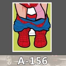 Bevle A-156 Spider-Man Wasserdicht Mode Kühle DIY Aufkleber Für Laptop Gepäck Skateboard Kühlschrank Auto Graffiti Cartoon Aufkleber