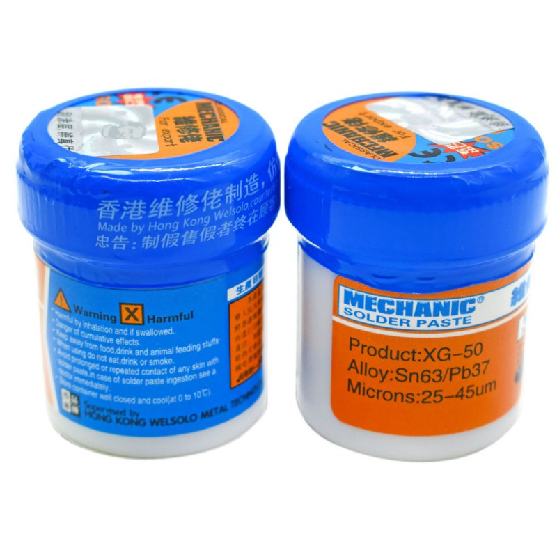 Soldering Paste Flux XG-80 XG-50 XG-30 Solder Tin Sn63/Pb67 For Hakko 936 TS100 Soldering Iron Circuit Board SMT SMD Repair Tool