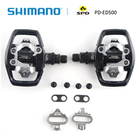 SHIMANO Genuine PD A530 PD ED500 SPD Pedal Road bike Pedals & SM SH56 Cleat Set (Multiple Release Mode / Pair) Bicycle B