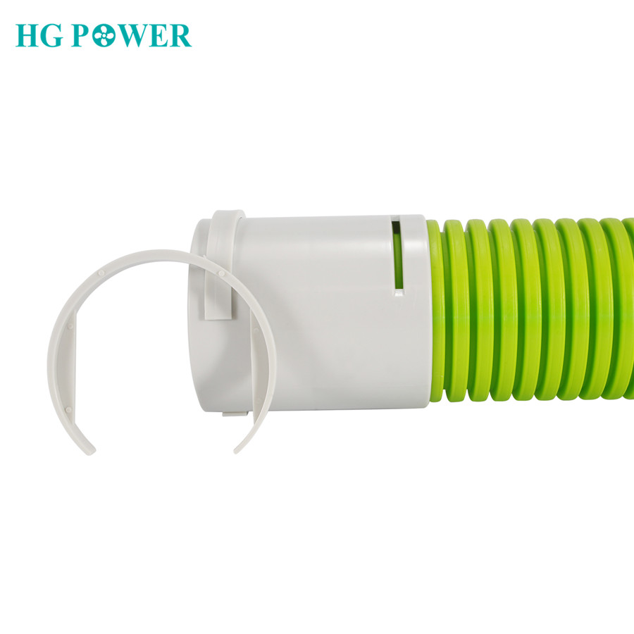 3 Inch ABS Air Vent Ducting Connector Duct Buckle Connector Hard Pipe Hose Straight Connector For Indoor Or Outdoor Ducting Use