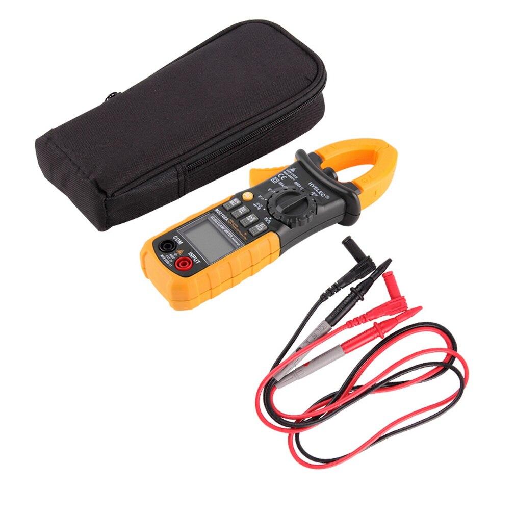 ФОТО New Portable HYELEC Digital Clamp Meter Multimeter AC DC Current Volt Tester