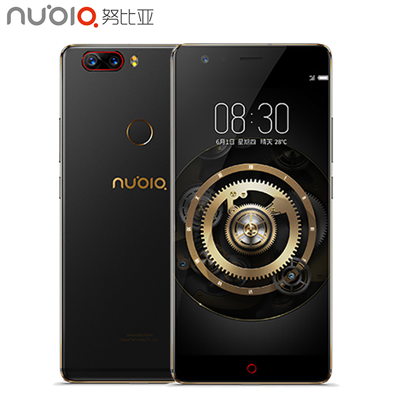 Original Nubia Z17 Cell Phone 5.5 inch Screen 6GB RAM 128GB ROM Snapdragon 835 Octa Core Android 7.1 OS Daul Camera Smarthpone