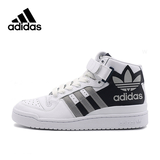Intersport Authentic New Arrival 2017 Adidas Originals FORUM MID RS XL  Men's Skateboarding Shoes Sneakers Designer