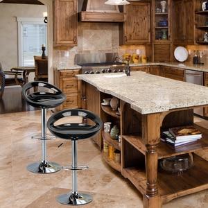 2 uds. Taburete de Bar, silla de Bar, taburete de Bar, taburete de escritorio frontal, taburete alto, taburete de Bar minimalista moderno, negro/blanco